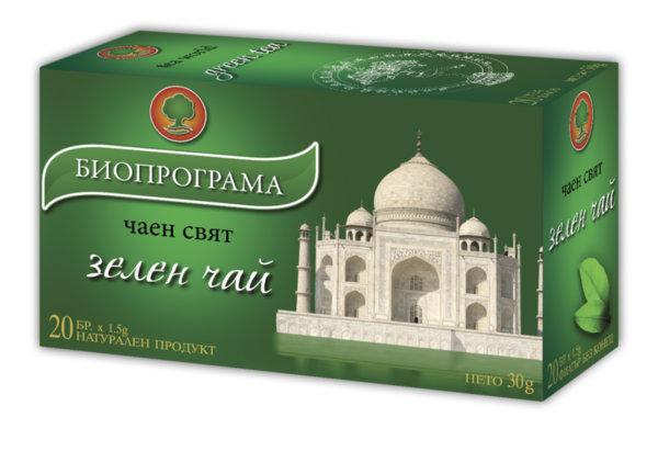 Зелен чай филтър 20 бр. Биопрограма